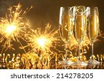 Champagne And Fireworks New...