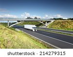 truck on the road | Shutterstock . vector #214279315