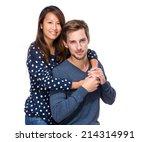 happy couple | Shutterstock . vector #214314991