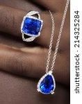Tanzanite And Diamonds Designer ...