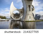The Falkirk Wheel Is A Rotatin...