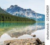������, ������: Emerald Lake rocky mountains