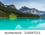 Постер, плакат: Emerald Lake in the