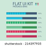 flat ui kit progress bars...