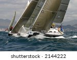 sailing in the mediterranean... | Shutterstock . vector #2144222