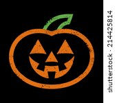 Jack O Lantern Pumpkin Vector...
