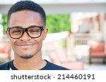 closeup headshot portrait of... | Shutterstock . vector #214460191