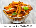 Sweet Potato In A Bowl On...
