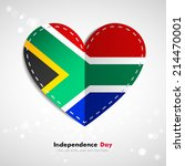 independence day. love of... | Shutterstock .eps vector #214470001