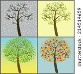 art trees collection for your... | Shutterstock .eps vector #214514659