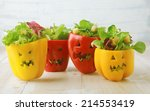 Colorful Halloween Food...