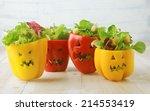 Colorful Halloween Food...