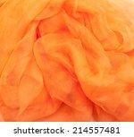 Photo Of Orange Silk Background