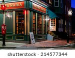 boston oct 20  2011 one of many ... | Shutterstock . vector #214577344