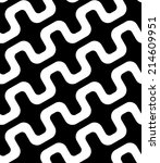 abstract black and white simple ... | Shutterstock .eps vector #214609951