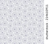 seamless abstract pattern as... | Shutterstock . vector #214610911