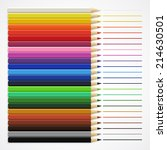 lines drawn with colored...   Shutterstock .eps vector #214630501