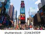new york city  usa   31st... | Shutterstock . vector #214634509