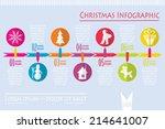 christmas graphic  vector... | Shutterstock .eps vector #214641007