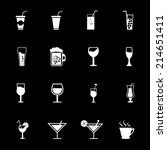 drink_icons | Shutterstock .eps vector #214651411