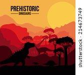 Dinosaur Design Over Sunshine...