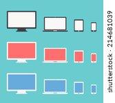 responsive design | Shutterstock .eps vector #214681039