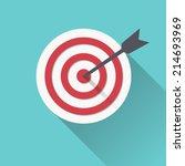 target icon | Shutterstock .eps vector #214693969
