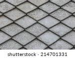 vintage roof tile | Shutterstock . vector #214701331