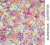 floral background | Shutterstock . vector #214705735