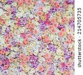 floral background | Shutterstock . vector #214705735