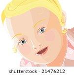 vector baby face | Shutterstock .eps vector #21476212
