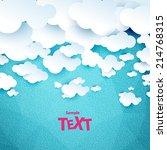 clouds | Shutterstock .eps vector #214768315