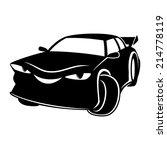 vector sign. car. | Shutterstock .eps vector #214778119