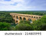 Pont Du Gard Is An Old Roman...