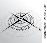 wind rose. wind rose isolated.... | Shutterstock .eps vector #214817239