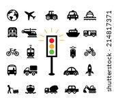 vector basic icon for transport  | Shutterstock .eps vector #214817371