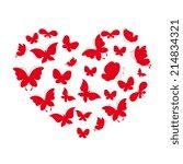 love hearts    Shutterstock .eps vector #214834321