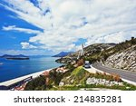 amazing road along the adriatic ... | Shutterstock . vector #214835281