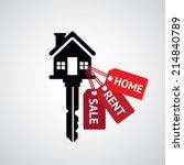 real estate concept | Shutterstock .eps vector #214840789