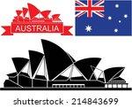 australia. isolated buildings...