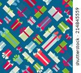 seamless festive pattern....