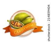 gourmet spices delicious...   Shutterstock .eps vector #214859404