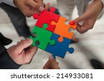 group of business people... | Shutterstock . vector #214933081