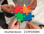group of business people... | Shutterstock . vector #214933084