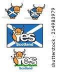 highland cow cartoon for...