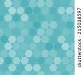 pattern with hexagons. vector | Shutterstock .eps vector #215038597