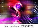 digital illustration of dollar... | Shutterstock . vector #21503878