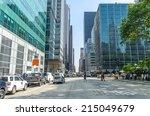 new york   jul 22  sixth avenue ...   Shutterstock . vector #215049679