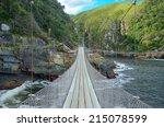 bridge in tsitsikamma national... | Shutterstock . vector #215078599