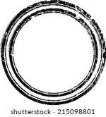 grunge stamp   | Shutterstock .eps vector #215098801